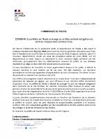 CP prolongation mesures masques 17 septembre 2020