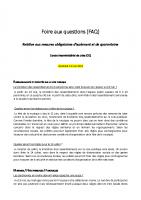 FAQ Collectivités territoriales